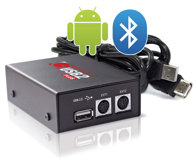 GROM Volvo 94-00 USB Bluetooth Android iPod iPhone Car Adapter