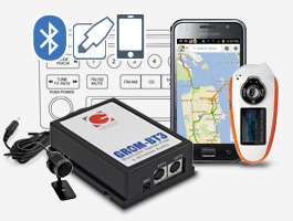 GROM BMW Mini 98-06 AUX-IN Android iPod Bluetooth Adapter - TRUNK