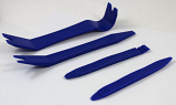 Car Audio Dash Trim Pry Removal Tools Plastic - Set of 4