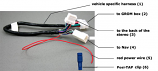 Nissan Infiniti 99-12 - NIS02 cable (Cable-C-NIS02)