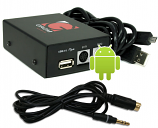 GROM BMW Mini 1998-2006 GROM USB Android Adapter Interface Kit - Behind the Radio Installation